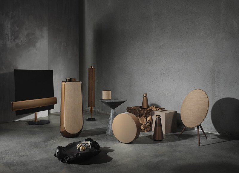 bang and Olufsen bronze